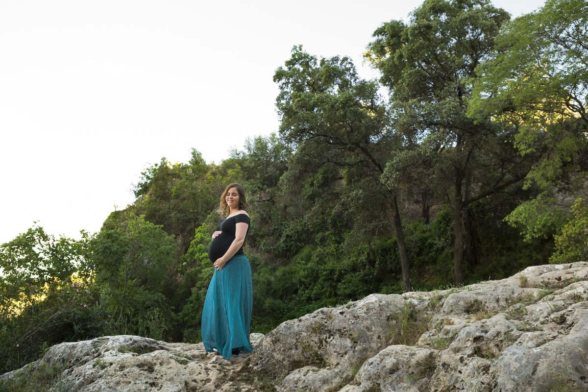 reportaje de embarazo montaña verde