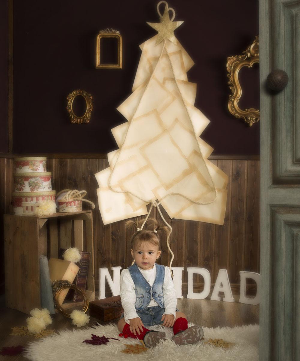 retrato para navidad