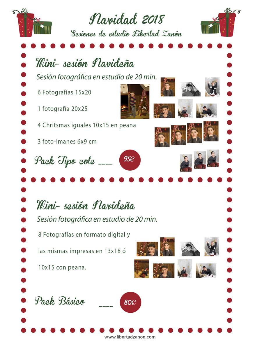 Sesiones de Navidad Libertad Zanón